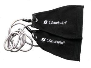 corde à uchi-komi de judo - clawtwin - Titanium 2 - noir et argent